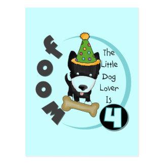 Carte Postale 4èmes T-shirts et cadeaux d'anniversaire