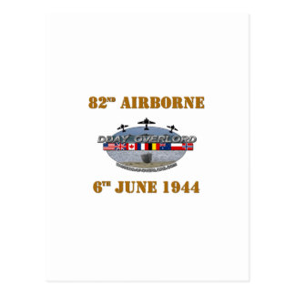 Carte Postale 82nd Airborne Division 6th June 1944