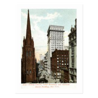 Carte Postale Abaissez le cru 1897 de Broadway NY
