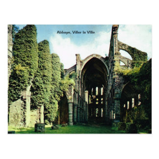 Carte Postale Abbaye, La VIlle de Viller