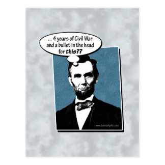 Carte Postale Abe Lincoln…