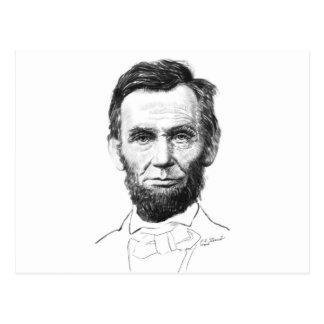 Carte Postale Abe Lincoln