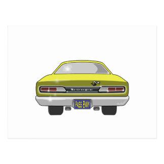 Carte Postale Abeille superbe de 1969 Dodge