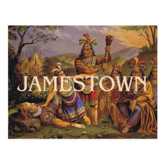 Carte Postale ABH Jamestown