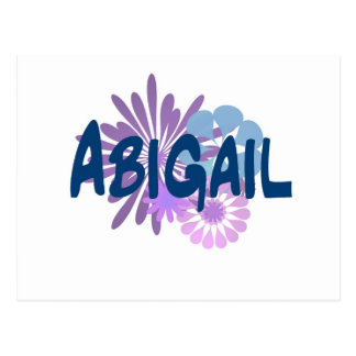 Carte Postale Abigaïl