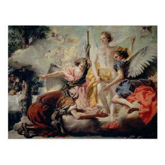 Carte Postale Abraham et les trois anges