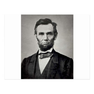 Carte Postale Abraham Lincoln !