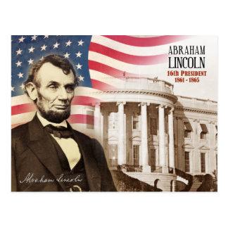 Carte Postale Abraham Lincoln - 16ème président des États-Unis