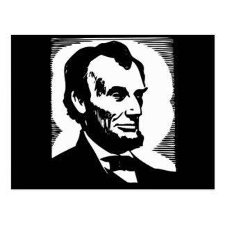 Carte Postale Abraham Lincoln, président 16 des États-Unis