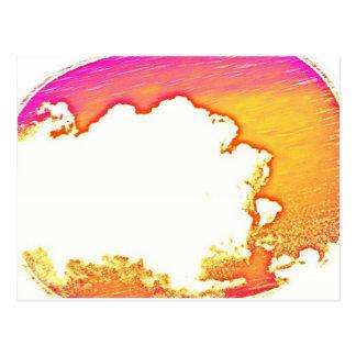 Carte Postale Abrégé sur nuages