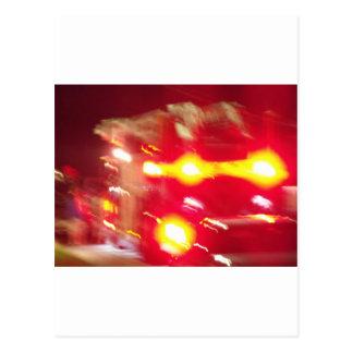 Carte Postale abrégé sur pompier