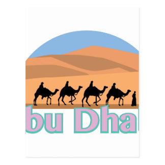 Carte Postale Abu Dhabi