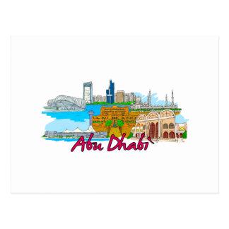 Carte Postale Abu Dhabi - l'Arabie Saoudite