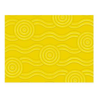 Carte Postale Acacia indigène d'art