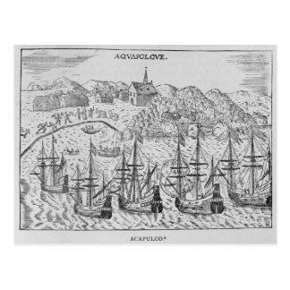 """Carte Postale Acapulco', de Jean-Baptiste Labat """"s Nouveau"""