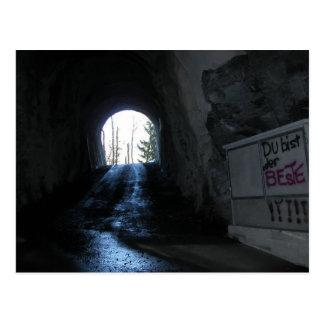 Carte Postale Accédez au tunnel à Isolfluh