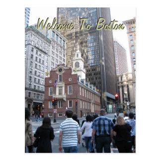 Carte Postale Accueil vers Boston