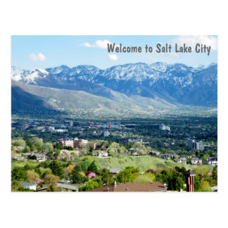 Carte Postale Accueil vers Salt Lake City