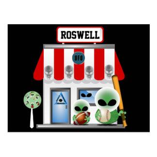 Carte Postale Achats de Roswell
