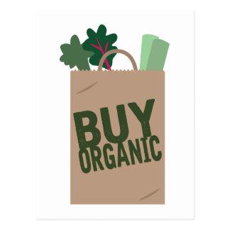 Carte Postale Achetez organique