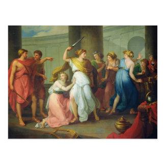 Carte Postale Achille a reconnu, 1799