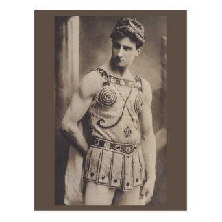 Carte Postale Acteur dans le costume romain 1910