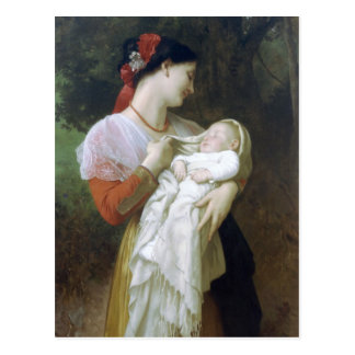 Carte Postale Admiration maternelle par William Adolphe