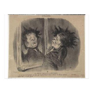 Carte Postale Adolphe Cremieux par Honore Daumier