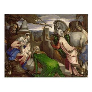Carte Postale Adoration des Magi, 1563-64