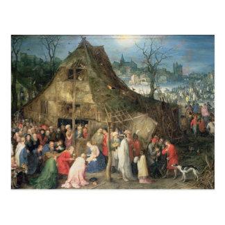 Carte Postale Adoration des Magi, 1598