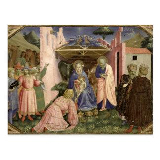 Carte Postale Adoration des Magi, du predella