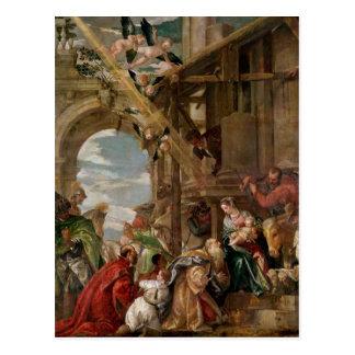 Carte Postale Adoration des rois, 1573
