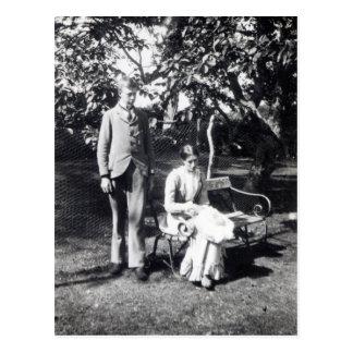 Carte Postale Adrian et Virginie Stephen, 1900
