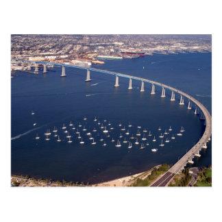 Carte postale aérienne de pont