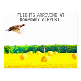 Carte Postale Aéroport de Darnaway