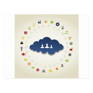 Carte Postale Affaires un nuage