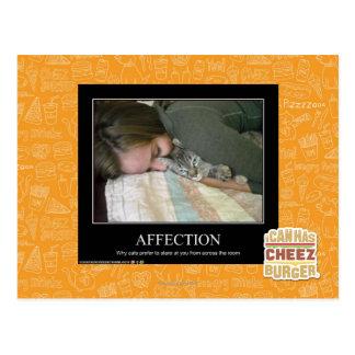 Carte Postale Affection