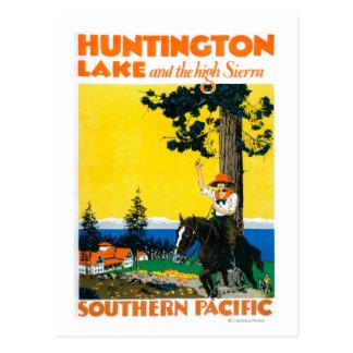 Carte Postale Affiche de Promotinal de lac huntington