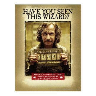 Carte Postale Affiche voulue noire de Sirius