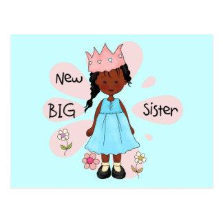 Carte Postale Afro-américain de princesse grande soeur