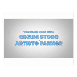 Carte Postale Agriculteur de ` d'artiste de magasin d'Edzuni