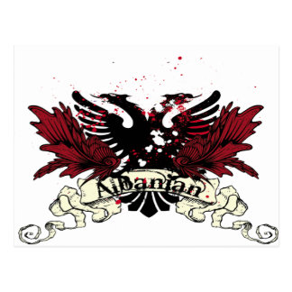 Carte Postale aigle albanais
