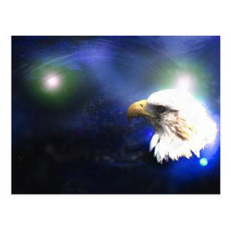 Carte Postale Aigle bleu