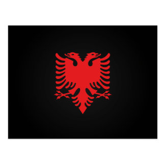 Carte Postale Aigle deux-dirigé albanais