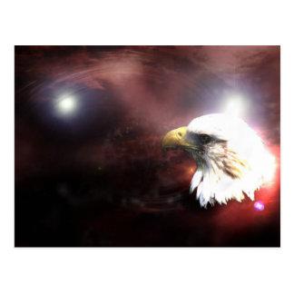 Carte Postale Aigle rouge