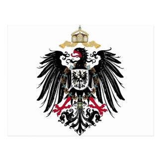 Carte Postale Aigles de royaume allemands