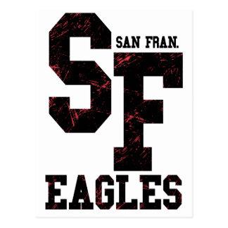 Carte Postale Aigles de San Fran