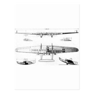 Carte Postale Aile de vol