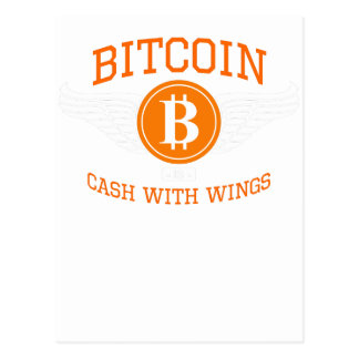 Carte Postale Ailes de Bitcoin