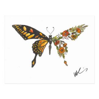 Carte Postale Ailes de papillon